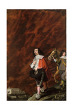 Portrait of a Gentleman in Italy, 1630 Giclee Print by Wolfgang Heimbach