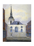 Church of St Mary Abchurch, City of London, C1815 Giclee Print by William Pearson