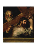 Christ Carrying the Cross, 1560S Giclée-tryk af  Titian (Tiziano Vecelli)