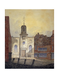 View of Holy Trinity Church, Minories, City of London, 1810 Giclee Print by William Pearson