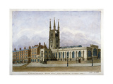 Church of St Sepulchre, Snow Hill, City of London, 1802 Giclee Print by Valentine Davis