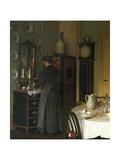 Tea-Time, 1898 Giclee Print by Valdemar Kornerup