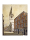 Church of St Margaret Pattens, Eastcheap, City of London, 1815 Giclee Print by William Pearson