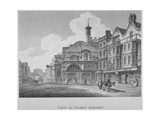 Fleet Street, City of London, 1800 Giclee Print by William Watts