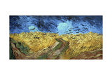 Crows over Wheatfield, 1890 Giclee Print by Vincent van Gogh
