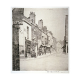 Duke Street, Chelsea, London, 1873 Giclee Print by Walter Greaves
