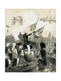 Cover of Sheet Music of the Battle March of Delhi, C1860 Giclee Print