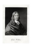John Milton, English Poet, 19th Century Giclee Print by W Holl
