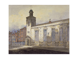 View of St Katherine Cree's Sundial, City of London, C1815 Giclee Print by William Pearson