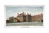 View of New Inn on Wych Street,Westminster, London, C1800 Giclee Print by Valentine Davis