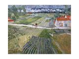 Landscape at Auvers after Rain, 1890 Giclee Print by Vincent van Gogh