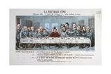La Nouvelle Cene, Paris Commune, 1871 Giclee Print