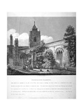 All Hallows-By-The-Tower Church, London, 1810 Giclee Print by William Pearson