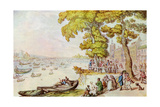 The Chelsea Mall, 1929 Giclee Print by Thomas Rowlandson