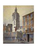 View of St Dionis Backchurch, City of London, 1815 Giclee Print by William Pearson