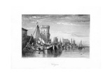 Cologne, Germany, 19th Century Giclee Print by W Miller