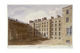 Inner Courtyard of Fleet Prison, City of London, 1805 Giclee Print by Valentine Davis
