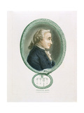 Immanuel Kant, German Philosopher, 1812 Giclee Print