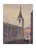 St Benet Gracechurch, London, C1810 Giclee Print by William Pearson