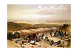 The New Works at the Siege of Sebastapol..., Crimean War, 1853-1856 Giclee Print by William Simpson