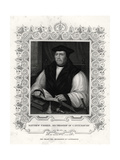 Matthew Parker, Archbishop of Canterbury, 19th Century Giclee Print by William Holl II