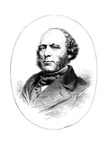 John Ericsson, Swedish-Born American Engineer and Inventor Giclee Print by  Whymper