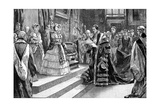 Presentation to the Queen, C1850S Giclee Print by William Heysham Overend