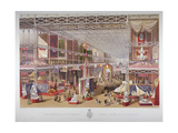 The Great Exhibition, Hyde Park, Westminster, London, 1851 Giclee Print by William Simpson