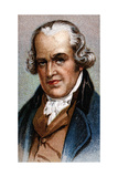 James Watt, Scottish Engineer Giclee Print by John Partridge