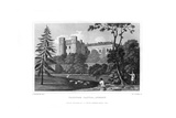 Farnham Castle, Surrey, 1830 Giclee Print by WJ Cooke