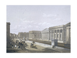 British Museum, Holborn, London, 1852 Giclee Print by William Simpson