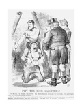 Pity the Poor Garotters!, 1872 Giclee Print by John Tenniel