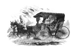 Florence Nightingale in Her Carriage in the Crimea, 1856 Giclee Print