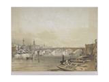 London Bridge, 1852 Giclee Print by William Simpson