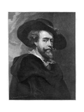 Peter Paul Rubens, Flemish Painter, 1877 Giclee Print by William Biscombe Gardner