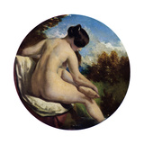 The Bather, 19th Century Giclee Print by William Etty