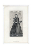 Elizabeth I of England, (Late 19th Centur) Giclee Print by W Ridgway