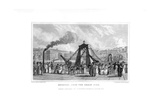 Brighton, from the Chain Pier, East Sussex, 1829 Giclee Print by WJ Cooke