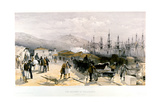 The Railway at Balaklava, 1855-1856 Giclee Print by William Simpson