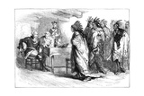 Visit of Pontiac and the Indians to Major Gladwin, 1763 Giclee Print by  Whymper