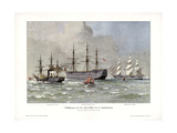 Ship Types from the First Half of the 19th Century Giclee Print by Willy Stower