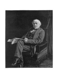William Ewart Gladstone, British Liberal Party Statesman and Prime Minister, 1894 Giclee Print by William Biscombe Gardner