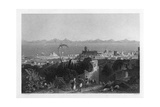 Rhodes, from the Heights Near Sir Sidney Smith's Villa, 1841 Giclee Print by W Wallis