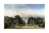 The Tuileries Gardens, 1858 Giclee Print by William Wyld