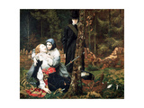 The Wounded Cavalier, 1855 Giclee Print by William Shakespeare Burton
