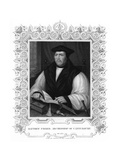 Matthew Parker, English Prelate, 19th Century Giclee Print by William Holl II
