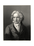 Beethoven, 19th Century Giclee Print by William Holl II
