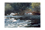 Rapids, Hudson River, 1894 Giclee Print by Winslow Homer