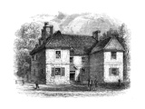 William Penn's House, Philadelphia, Pennsylvania, Late 17th-Early 18th Century Giclee Print by  Whymper