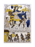 St Martin of Tours, 4th Century Giclee Print